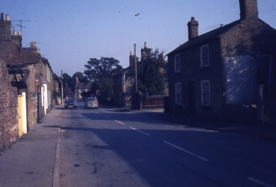 South Park Street, Chatteris. Looking towards Wood Street. Photo supplied by R.Edwards.