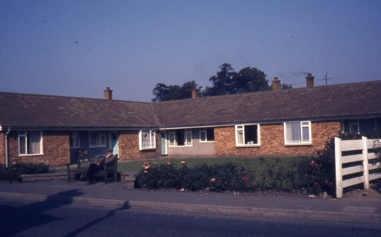 Bungalows, Wenny Road, Chatteris. Photo supplied by R Edwards.