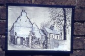 A drawing of The Shrubbery House which used to stand on St Martin's Rd, Chatteris.Photo kindly contributed by R.Edwards.