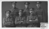 Chatteris man, Ebeneezer Ash with fellow soldiers in the Suffolk Regiment during WW1. Photo kindly contributed by Margaret Feast.