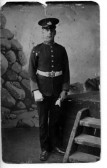 Ernest Robert Miller of Chatteris who served in the Suffolk Regiment in WW1. Contributed by T Prior.