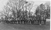 Bedfordshire Yeomanry in WW1. Several Chatteris men served in the Yeomanry, including Arthur Skeels. Photo courtesy of Barbara Skeels.