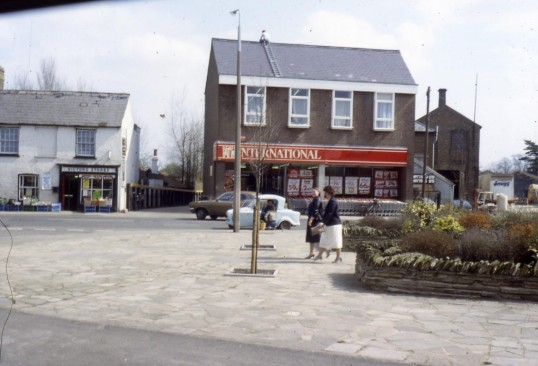 International Supermarket, High Street, Chatteris, with Victors to the left of picture. Photo courtesy of R Edwards.