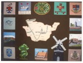 W.I Tapestry depicting Chatteris.