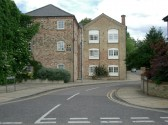 Lindsells Walk, Chatteris, a block of flats now stands on the site of Lindsells Brewery which closed in 1926.