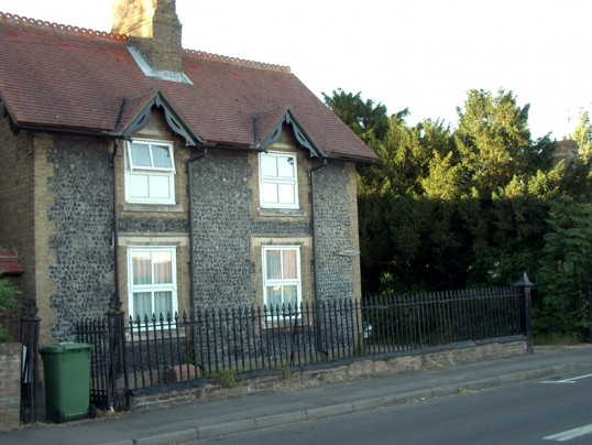 House in New Road, Chatteris. Formerly the house of Mr. Meeks