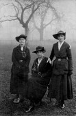 Guides, Florence Barrett (in centre), Chatteris