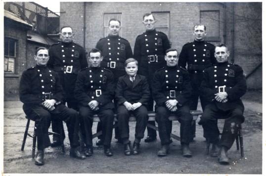 Group of fireman, Chatteris.
