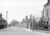 Re: Demolition of 'Ivy House'. View of station Street, Chatteris, heading south towards Chatteris Station. 5 photos donated by Dave Bristow