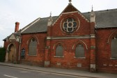 Methodists Chapel Sunday School built in 1903, situated in New Road, Chatteris.. The Methodist Schoolroom