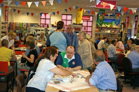 Chatteris Archive Quiz night held in Chatteris Library.2 of 3