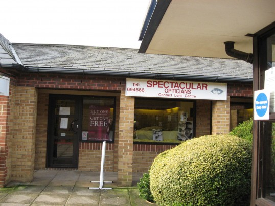 Spectacular Opticians situated near the surgery in Swan Drive  off  New Road, Chatteris