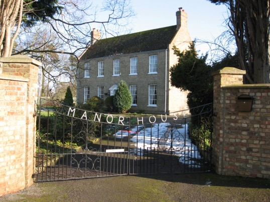 Manor House in Wenny Road, Chatteris