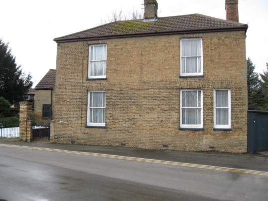 House next to the old forge in Saint Martin's Road, Chatteris.