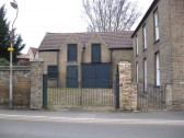 The building on the left of the house formerly 'The Forge' shown on the previous photo in Saint Martins Road ,Chatteris was once a Blacksmiths shop.