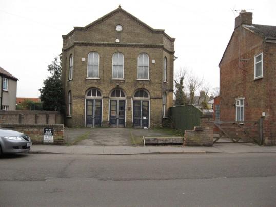 West Park Street Baptist Chapel, Chatteris now Seymour Design's Warehouse
