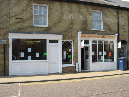 The 'Chocolate Haven'  shop situated in the High Street Chatteris