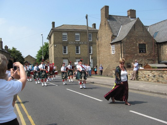 The Chatteris Historic Festival Parade