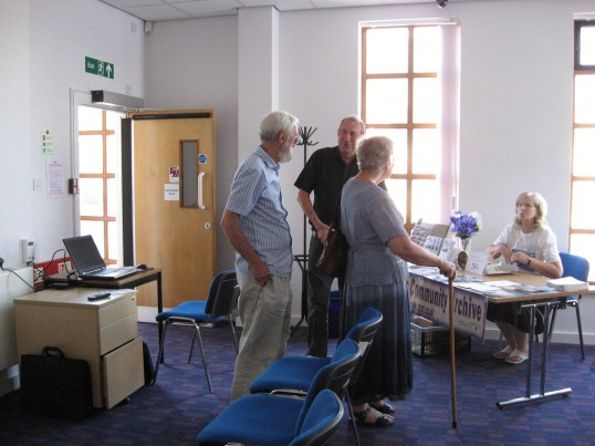 Exhibition by Chatteris Community Archive in the Vermuyden Room for the Chatteris Historic Festival