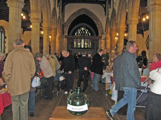 'Craft Fair' held in Saint Peter & Saint Paul's Church, Chatteris