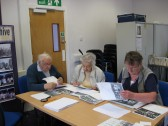 Exhibitions by Chatteris Community Archive in Vermuyden Room at the Library, for the Historic Festival  2011