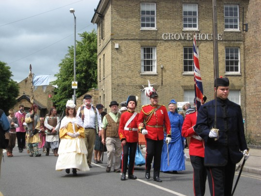 The Historic Festival Parade, Furrowfields Rd, Chatteris.