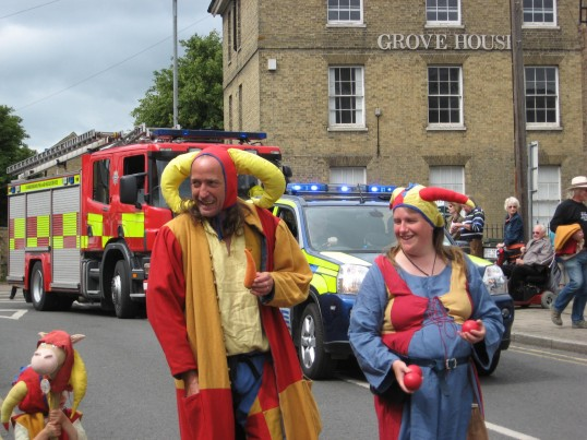 The Chatteris Historic Festival parade, Furrowfields Rd Chatteris
