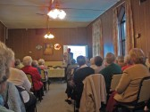 Bill Haggata and Julie Smith presentations for Ccan and Commununity Cinema, at the Chatteris and District Ladies Club,held in Masonic Hall ,Chatteris
