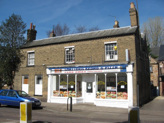 Chatteris , takeaway, Kebab and Pizza shop in Park Street, Chatteris