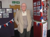 'CCan at Home' in the Vermuyden Room, ChatterisMr Alfred Beazeley visits the event.
