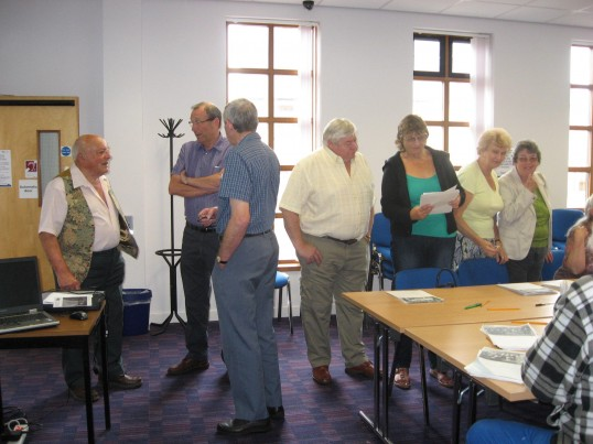 'CCan  at Home' in the Vermuyden Room, ChatterisQueens Diamond Jubilee