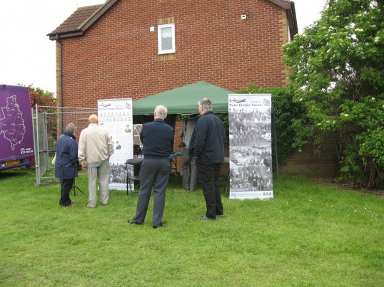 'Path Finder Force' at the Chatteris Historic Jubilee Festival ,Furrowfields recreation Ground.