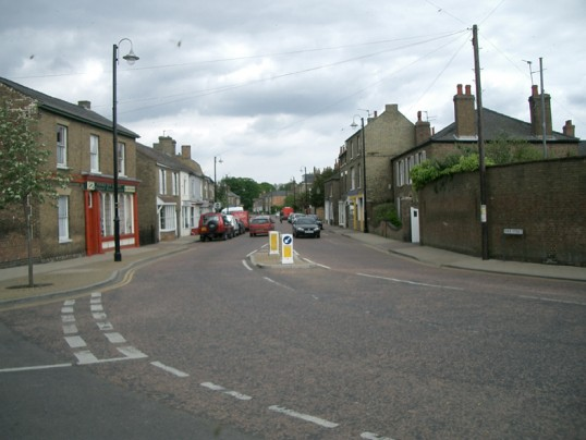 Park Street Chatteris looking towards Market Hiil
