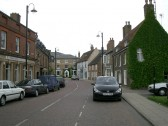 Start of High Street looking at Bramley House Hotel Chatteris