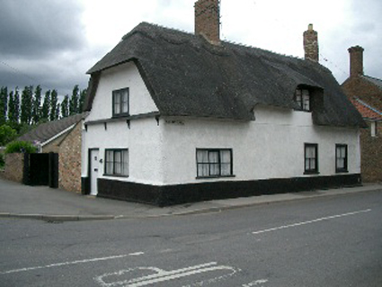 Private dwelling at the corner of Station Street and Railway Lane Chatteris, Formerly the Boar's Head Public House.