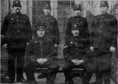 Photograph of a group of Chatteris Bobbies