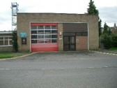 Chatteris Fire Station  Station Street Chatteris. Built and opened 1956.<br>