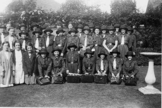 Group of Chatteris Girl Guides