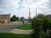 London Road, Chatteris. Looking north.