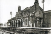Chatteris Railway Station, closed under the Beeching act 1967.