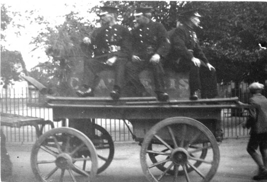 Chatteris horse drawn Fire pump replaced by motor vehicle 1928