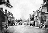 Chatteris High Street towards Slade End.. Public Houses