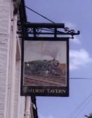 Pub Sign, Railway Tavern, Chatteris