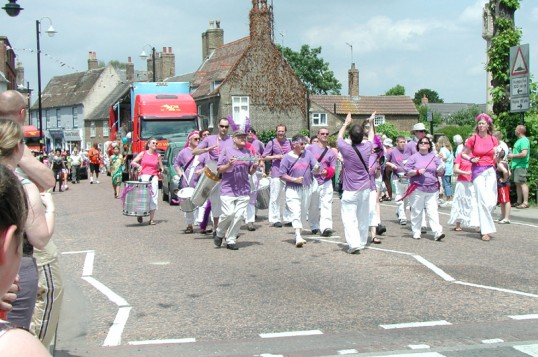 Chatteris Town Carnival Parade
