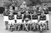 Chatteris King Edwards School Junior Football team. Not quite what it seems ?