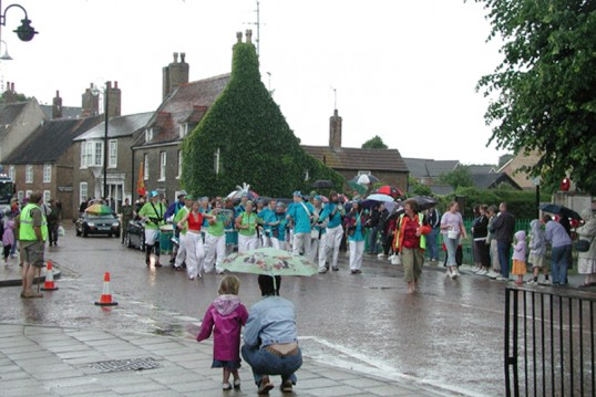Carnival Parade, Market Hill, Chatteris