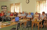 Local residents at Chatteris ccan presentation to CAMTAD 'Come And Be Heard' group at Lyons Court, Chatteris.