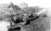 Barges at Chatteris Docks