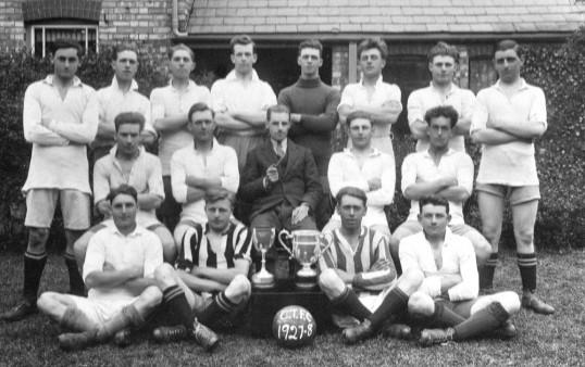 Chatteris Town Football Club.  Photo loaned by Michael Fleet.