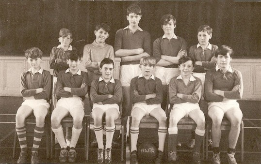 Chatteris Cromwell School football team 1965-66.  Photo from Gables resident.